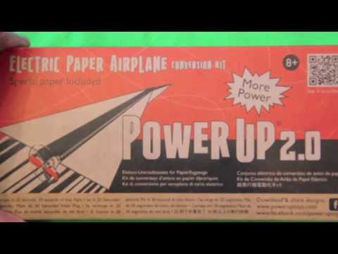 PowerUp 2.0 Electric Paper Airplane Conversion Kit Review