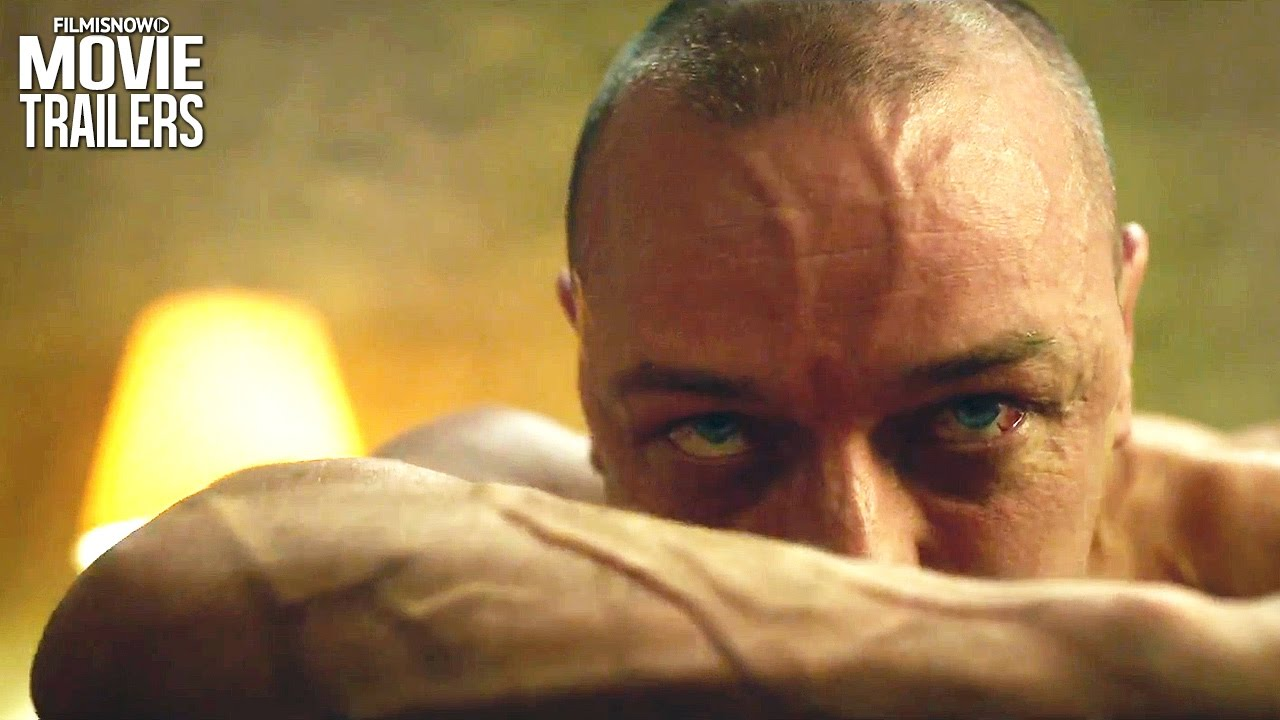 Shyamalan's SPLIT new Trailer Sends James McAvoy Over the Edge