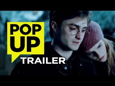 Harry Potter and the Deathly Hallows Part 1 Pop-Up Trailer (2001) Daniel Radcliffe Movie HD klip izle