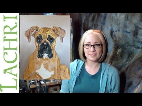 Critique your painting series Art tips w/ Lachri - Dog portrait in colored pencil