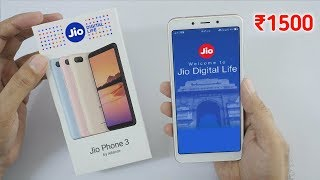 Jio Phone 3 Launch Date Confirm and Booking।। Price ₹1500 ।। Camera 📸25MP ।। Ram 4GB ।। Rom 64GB