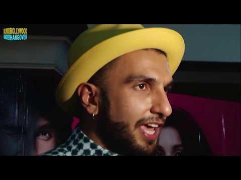 Ranveer Singh KISSES Girlfriend Deepika Padukone at AIB Knockout