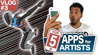 TOP 5 FREE APPS FOR COMICBOOK/ MANGA ARTISTS !! [VLOG] [#03]