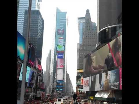 Times Square - La paz y tranquilidad de NYC