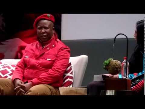 EFF CIC Julius Malema on Daily Maverick debate part 1