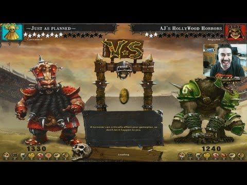 Angry Joe vs TotalBiscuit - BloodBowl Wk 5