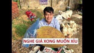 Khương Dừa mua trái mít khổng lồ, nghe giá xong muốn xỉu!!!!