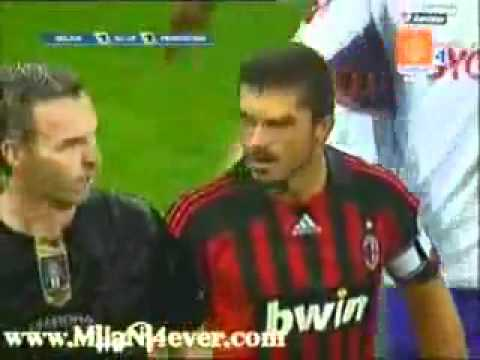 Kaka And Gattuso Fighting