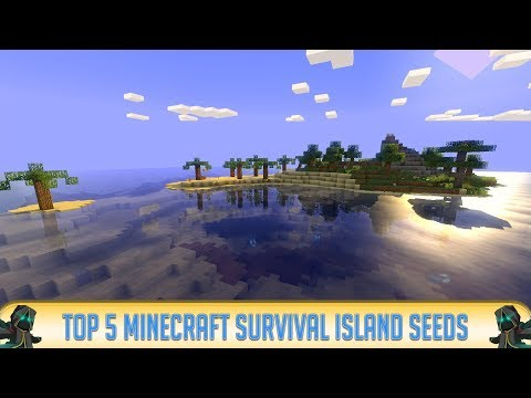 Minecraft: TOP 5 SURVIVAL ISLAND SEEDS for Minecraft 1.8, 1.7.10, and 1.7.9 (Bes