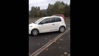 11 year old first ever time behind the wheel of a car, perfect reverse parking