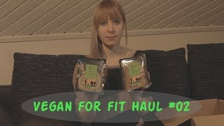 Vegan for Fit Challenge Haul #02
