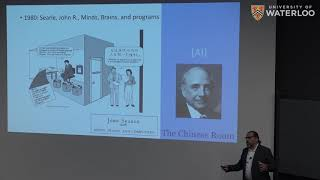 Artificial Intelligence - History, Opportunities & Challenges [Waterloo AI Institute Inaugural Talk]