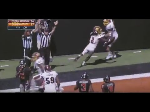 Central Michigan vs. Oklahoma State - CMU Football Game Winning Hail Mary
