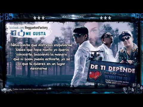 Jory Boy Ft. Plan B - &quot;De Ti Depende&quot; con Letra New Reggaeton 2013