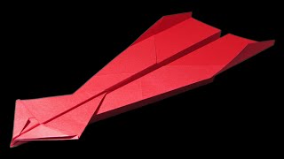 How to make a GOOD PAPER AIRPLANE - cool paper airplanes that FLY FAR | Amelie