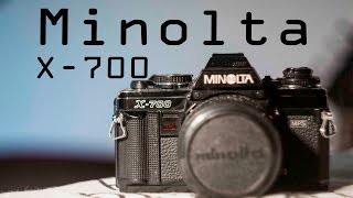 BACK TO ANALOG! Minolta x-700 Camera Review