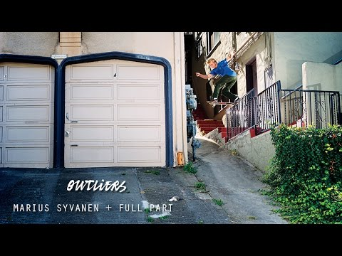 Marius Syvanen in Outliers - TransWorld SKATEboarding