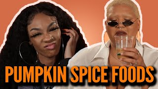 Black People Try Popular Pumpkin Spiced Foods
