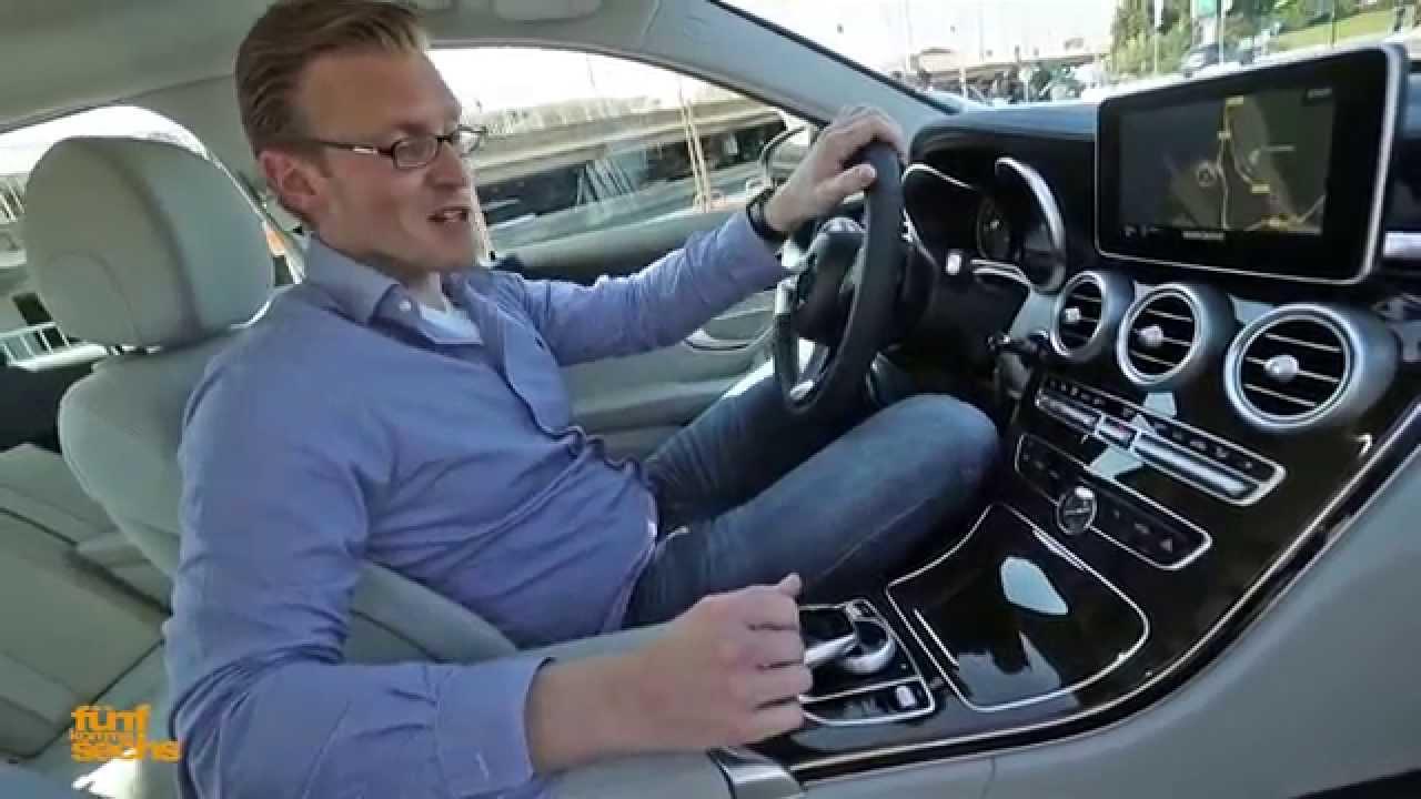 Mercedes C Test Drive