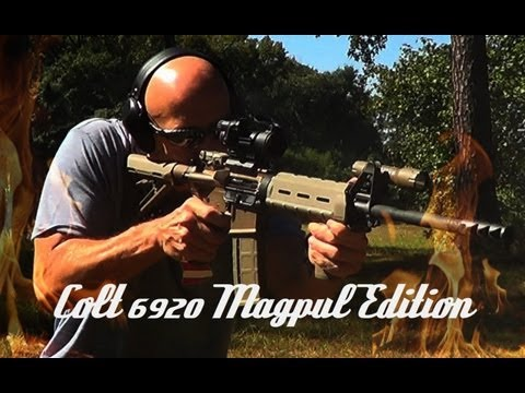 Colt LE6920 Magpul Edition With Anodized Receiver HD Review