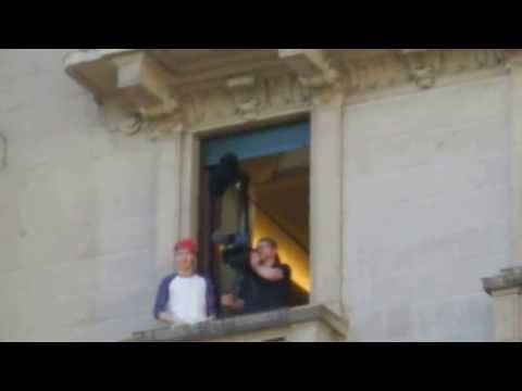 NIALL HORAN FROM ONE DIRECTION OUTSIDE THE HOTEL IN MILAN ITALY 20TH MAY 2013