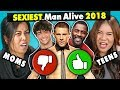 Moms & Daughters React To The Sexiest Men Alive 2018