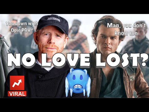 RON HOWARD VS. ALDEN EHRENREICH & SOLO: A STAR WARS STORY