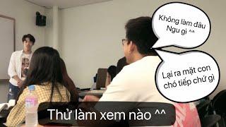 Vlog 11: Cười Sặc Với Tiết Học Thuyết Trình Trên lớp (ppt 한국말로 ChungAng university)