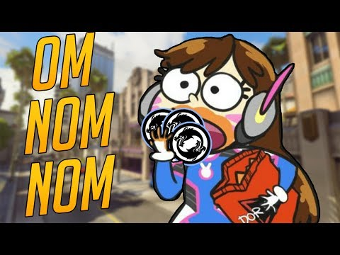 Overwatch Funny & Epic Moments - OM NOM NOM - Highlights Montage 174