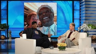 Samuel L. Jackson Spent His 70th Birthday Dancing with Judge Judy
