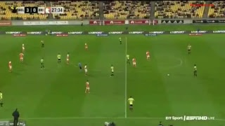 Wellington Phoenix vs Brisbane Roar live stream Australia A League 27.10.2017