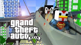 "Minecraft GTA V | Grand Theft Auto 5 Mod Ep 15! ""WAR FOR THE EMPIRE STATE BUILDING"" (GTA 5)"