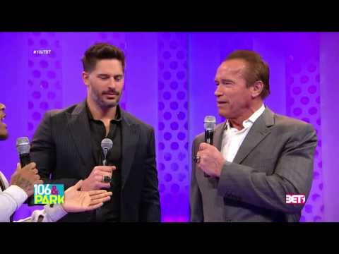 Arnold Schwarzenegger Does The Nae Nae & Stanky Leg On 106 & Park! video