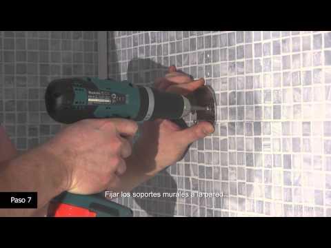 Cómo instalar  un panel de ducha Hudson Reed: