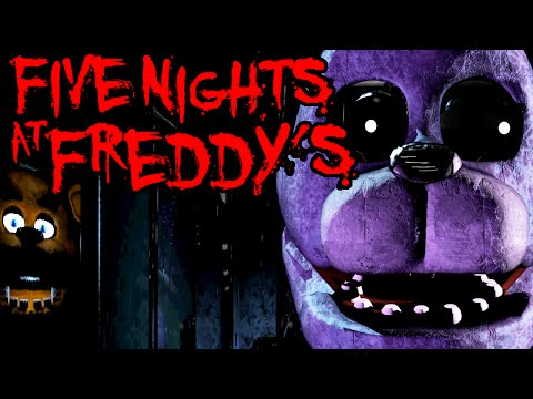 Five Nights at Freddy's: Scary Horror Game Creepy Animal Robot PART 2 Gameplay Walkthrough Night 2
