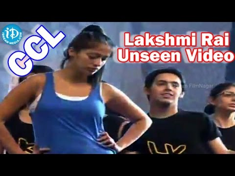 Lakshmi Rai Rare & Unseen Dance || CCL 2 Curtain Raiser Event Photo Image Pic