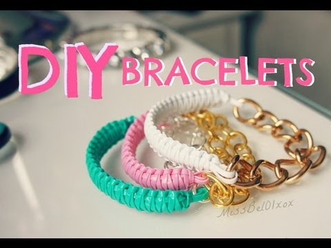 How to: DIY Cobra Braid Bracelet! - MissBel01xox