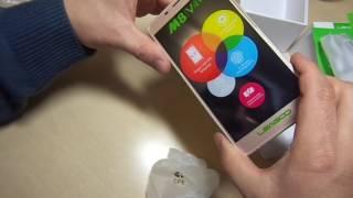 Leagoo M8 смартфон распаковка обзор