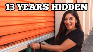13 YEARS HIDDEN ANTIQUE UNIT / I Bought An Abandoned Storage Unit Locker With Mystery Boxes