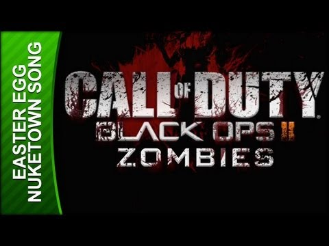 Call of Duty: Black Ops 2 Walkthrough - Nuketown Zombies Song Easter Egg