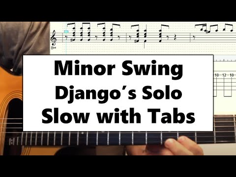 Django Solo Minor Swing Slow