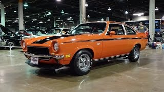 1972 Chevrolet Vega Yenko Stinger in Orange Paint & Engine Sound on My Car Story with Lou Costabile