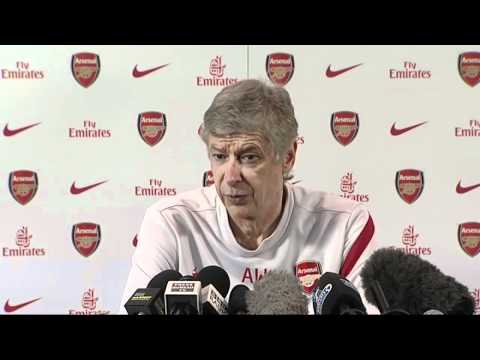 Arsene Wenger wants Arsenal to show character against Spurs