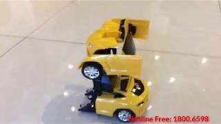 Siêu nhân, Robot biến hình thành siêu xe quá đỉnh - babycuatoi.vn