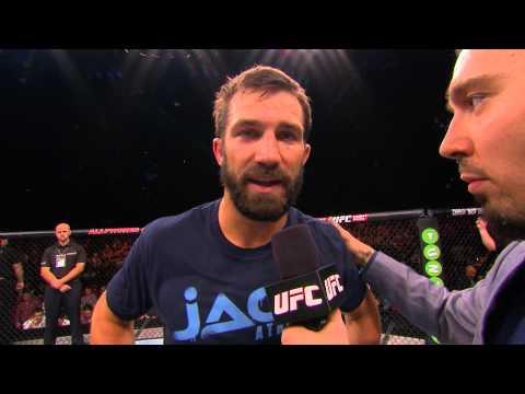 Fight Night Sydney: Luke Rockhold and Michael Bisping Octagon Interviews