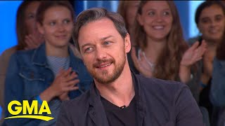 James McAvoy talks 'IT Chapter Two' l GMA