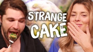 Trying CRAZY Cakes w/ Grace Helbig! (Cheat Day)