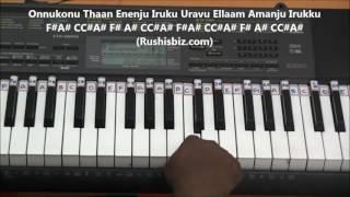 Elangaathu Veesudhey... (Piano Tutorials) - PITHAMAGAN
