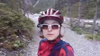 Biking in Arosa, Switzerland, 30.07.2017