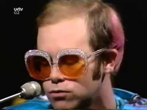 Elton John Yellow Glasses Elton John Goodbye Yellow